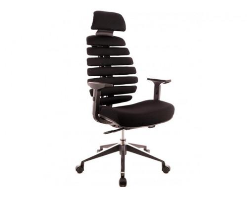 Кресло Ergo Black ткань черный