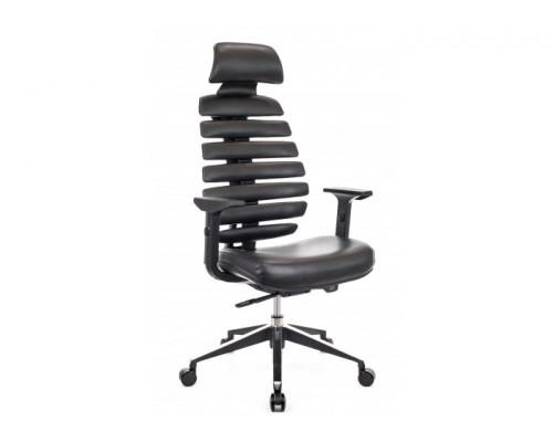 Кресло Ergo Black экокожа черный