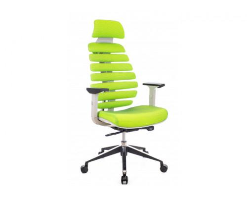 Кресло Ergo Green ткань салатовый