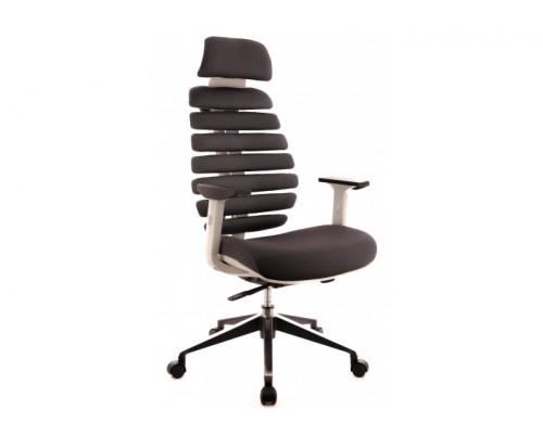 Кресло Ergo Grey ткань серый