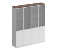 Шкаф для документов со стеклянными дверьми Bravo СИ 315