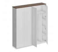 Шкаф комбинированный (закрытый - одежда с дополнением) City СИ 311