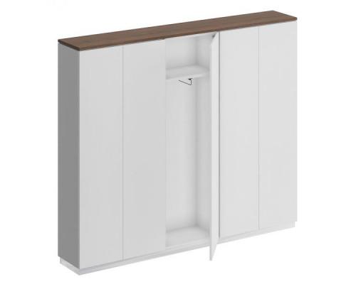 Шкаф комбинированный (закрытый - одежда узкий - закрытый) City СИ 316
