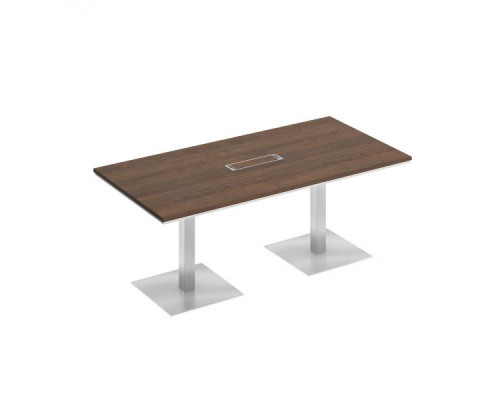 Стол для переговоров на квадратных опорах-колоннах City СИ 150