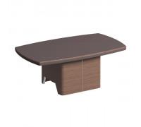 Журнальный столик кожа металл ISixty С120TV