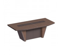 Стол для президиума, дерево/кожа, металлическая вставка ISixty 280TC