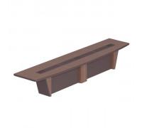 Стол для президиума, дерево/кожа, металлическая вставка ISixty 420TС