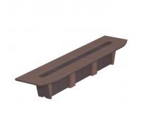Стол для президиума, дерево/кожа, металлическая вставка ISixty 560TС