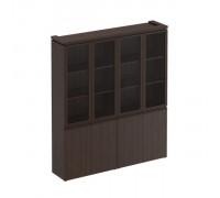 Шкаф для документов со стеклянными дверьми Mark МК 360