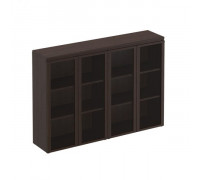 Шкаф для документов средний со стеклянными дверями Mark МК 323