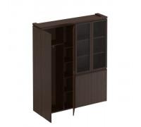 Шкаф комбинированный (для одежды + со стеклом) Mark МК 359