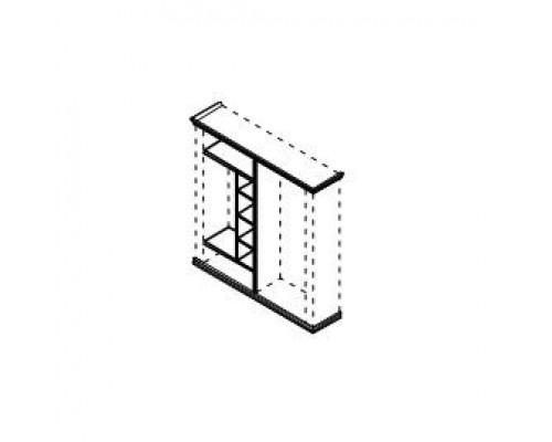 Комплект наполнения 1 секции - гардероб Porto PRT419