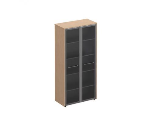 Шкаф со стеклянными дверями высокий Reventon МЕ 344