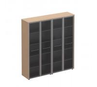 Шкаф комбинированный высокий (стекло + стекло) Reventon МЕ 361