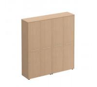 Шкаф комбинированный высокий (закрытый + одежда ) Reventon МЕ 363