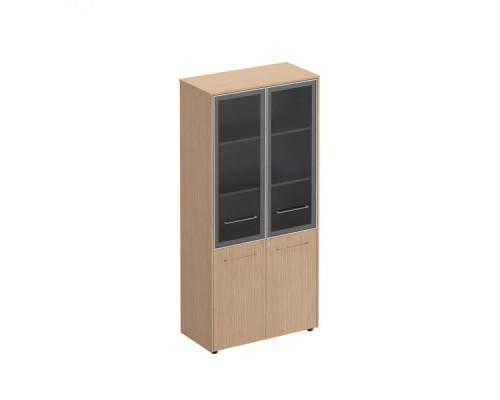 Шкаф со стеклянными дверями высокий Reventon МЕ 343