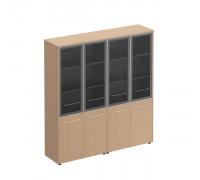 Шкаф комбинированный высокий (стекло + стекло) Reventon МЕ 360