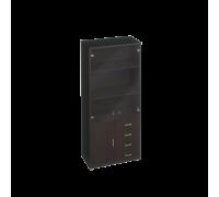 Шкаф для документов с тонированными дверями Дуглас КМ-10118Т
