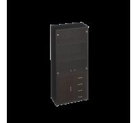 Шкаф для документов с пескоструйными дверями Дуглас КМ-10118П