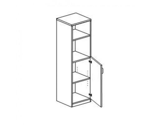 Шкаф с распашными дверьми правый/левый Orgspace F8753/F8754
