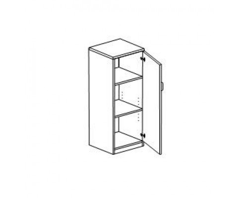 Шкаф с распашными дверьми, правый/левый Orgspace F8756/F8757