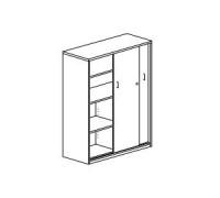 Шкаф средний с раздвижными дверьми Orgspace F8611