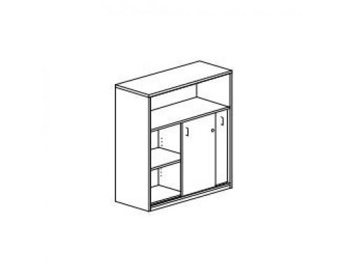 Шкаф с раздвижными дверьми, с замком Orgspace F8617
