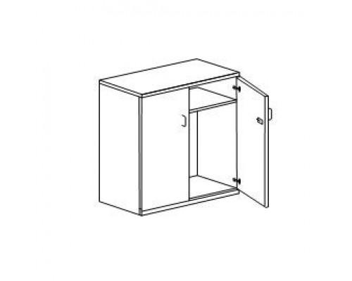 Шкаф для оргтехники, с замком Orgspace F8662
