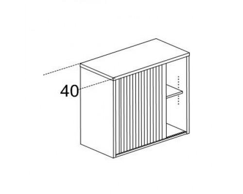 Шкаф рабочей зоны и проходов Karstula Orgspace F8503