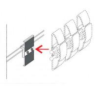 Крепеж для кабель-канала гибкого универсального Orgspace F5129