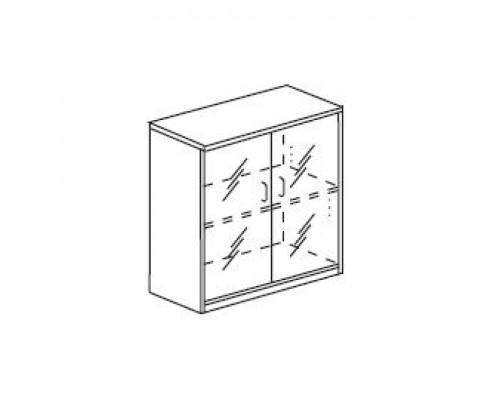 Шкаф для документов со стеклянными дверьми Orgspace F8694