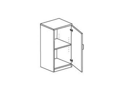 Шкаф для документов закрытый, правый Orgspace F8695