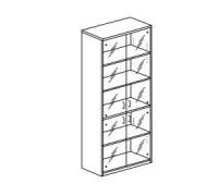 Шкаф с распашными дверьми Orgspace F8712