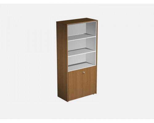 Шкаф для документов полузакрытый PROFIQUADRO LIGHT КВ 348 БН