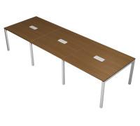 Стол для переговоров с кабель-каналом PROFIQUADRO LIGHT КВ 125 БН