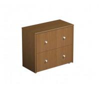 Шкаф для документов с файловыми ящиками PROFIQUADRO LIGHT КВ 306 БН