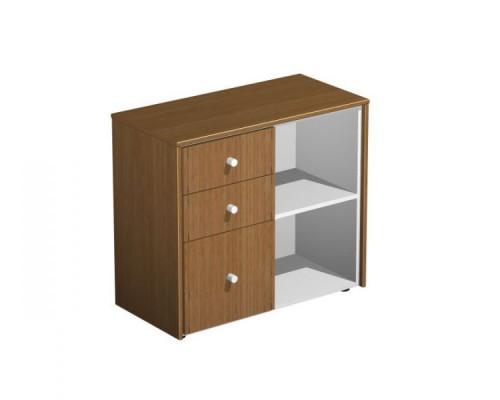 Шкаф для документов с файловыми ящиками PROFIQUADRO LIGHT КВ 307 БН