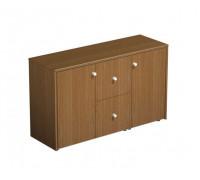 Шкаф для документов с файловыми ящиками PROFIQUADRO LIGHT КВ 308 БН