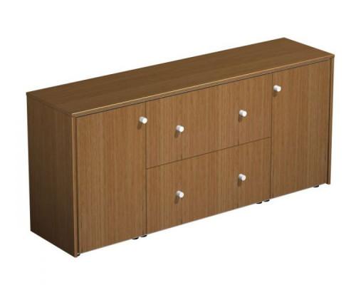 Шкаф для документов с файловыми ящиками PROFIQUADRO LIGHT КВ 312 БН
