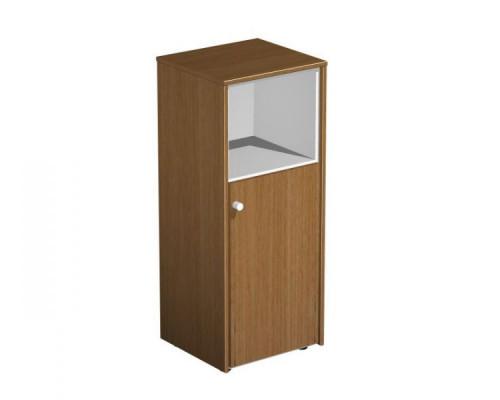Шкаф для документов узкий полузакрытый PROFIQUADRO LIGHT КВ 316 БН