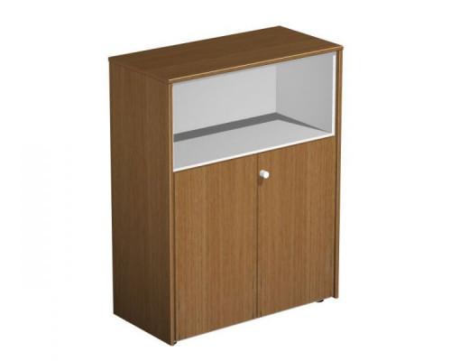 Шкаф для документов полузакрытый PROFIQUADRO LIGHT КВ 320 БН