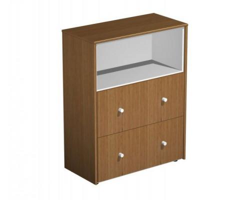 Шкаф для документов с файловыми ящиками PROFIQUADRO LIGHT КВ 321 БН
