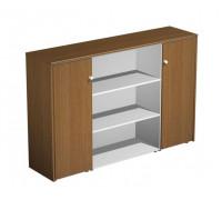 Шкаф комбинированный средний PROFIQUADRO LIGHT КВ 327 БН