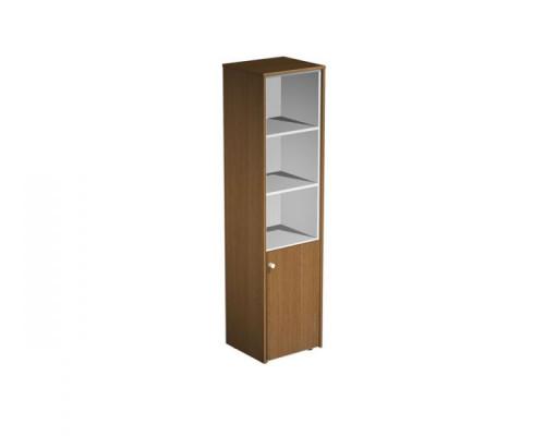 Шкаф для документов узкий полузакрытый PROFIQUADRO LIGHT КВ 340 БН