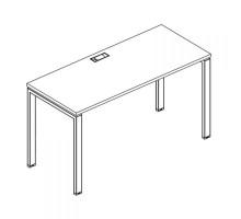 Стол письменный на металлокаркасе UNO A4 Б1 001 БП