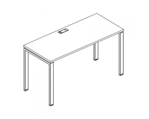 Стол письменный на металлокаркасе UNO A4 Б1 002 БП