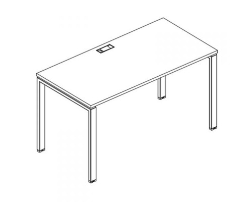 Стол письменный на металлокаркасе UNO A4 Б1 016 БП