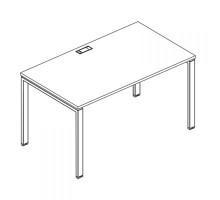 Стол письменный на металлокаркасе UNO A4 Б1 021 БП