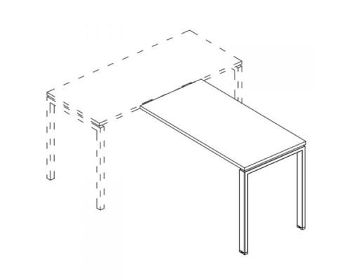 Брифинг-приставка на металлокаркасе UNO A4 Б1 072 БП
