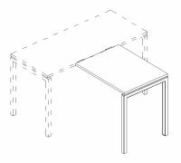 Брифинг-приставка на металлокаркасе DUE A4 Б2 073 БП